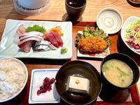 刺身定食@魚金(横浜) - よく飲むオバチャン☆本日のメニュー