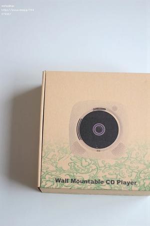 卓上&壁掛け式、CDプレーヤーが届く - わたし時間
