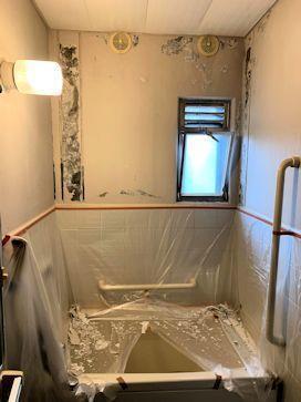 お風呂と玄関ドアの塗り替え。 - いっとこ物語