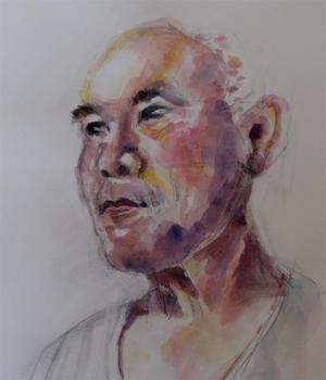不思議の世界 - ちょっとシニアチックな水彩画家 Watercolor by Osamu 水彩画家のロス日記 Watercolorist Diary