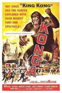 「巨大猿怪獣」 Konga  (1961) - なかざわひでゆき の毎日が映画&音楽三昧
