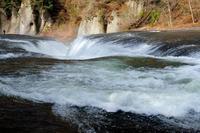 吹割の滝開園! 雪解けで水量が増えるこの時季に、前日の雨で更に水嵩が増えて一部立ち入り禁止だった(-_-;) - 『私のデジタル写真眼』