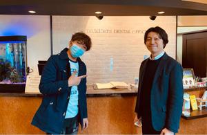 前田先生来訪 - TSUKIDATE DENTAL OFFICE BLOG