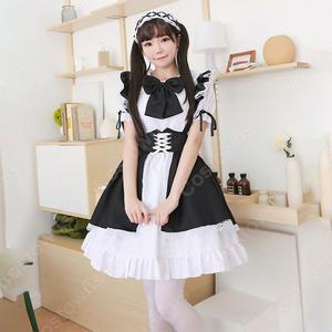 定番白黒メイドコスチューム5点セット甘可愛いデザインにメロメロこちら人気のメイドコスチューム - 仮装コスプレ衣装専門店's Blog