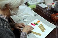 季節レク~ 大空およぐ鯉のぼり色紙作品➀ ~ - 鎌倉のデイサービス「やと」のブログ