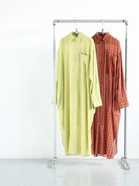 unfilultimate pima-voil maxi shirt dress - 『Bumpkins putting on airs』