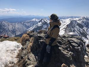 ⑧ はじめての谷川岳 残雪期 - 月が昇れば