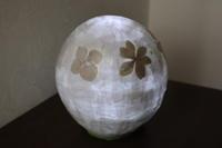 ペーパークラフト~ 押し花のランプシェード ~ - 鎌倉のデイサービス「やと」のブログ