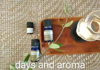朝のアロマ【ハーバル&ウッディ】 - days and aroma