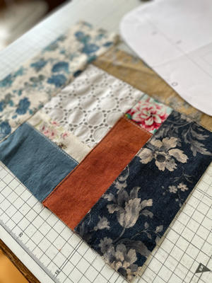 久しぶりのはぎれ活用で制作中の布小物♪ - neige+ 手作りのある暮らし