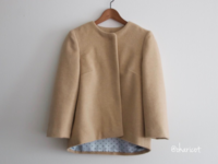 Burda Style、50年代風ジャケット - la vie sample