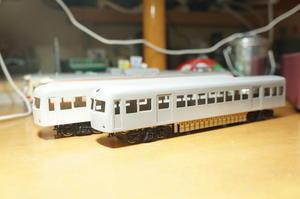 【鉄道模型・HO】新しいペーパーキット・3 大井川鐵道 南海21000系 - kazuの日々のエキサイトな企み!