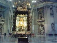 小説更新のお知らせ+サンピエトロ大聖堂内部 - fermata on line! イタリア留学&欧州旅行記とか、もろもろもろ