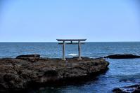 大洗磯先神社と「SAZA COFFEE」のカフェタイム - 明日はハレルヤ
