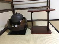 炉から風炉へ - 茶道 松山市 茶道教室 日常の出来事と稽古