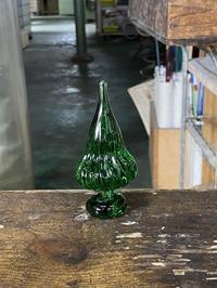 木のつもり - 宙吹きガラスの器