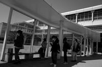 バスターミナルに光と影20210421 - Yoshi-A の写真の楽しみ