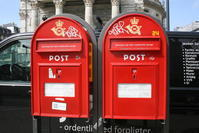 デンマークの郵便ポスト - 旅めぐり&花めぐり
