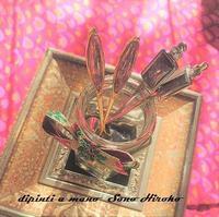 豹柄のスプーン&フォーク納品☆ - Italian styleの磁器絵付け
