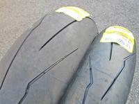 S田サン号 デイトナ675Rをタイヤへ交換でV3!・・・からのS井サン号 HP4のお引き取り・・・(^^♪ - バイクパーツ買取・販売&バイクバッテリーのフロントロウ!