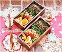 ごぼうと牛肉のしぐれ煮のっけ弁当とパン焼き♪ - ☆Happy time☆