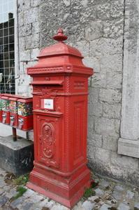 デュルビュイの郵便ポスト(ベルギー) - 旅めぐり&花めぐり