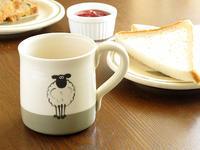 白ひつじのマグカップが新入荷!! - ブルーベルの森-ブログ-英国のハンドメイド陶器と雑貨の通販