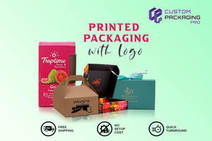 Packaging with Logo - Printed Boxes