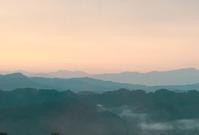 雲海と棚田と里山と - お散歩日和+カエル達