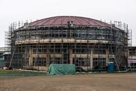 旧室蘭市立絵鞆小学校体育館棟 - こんなものを見た2