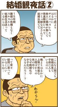結婚観夜話② - 戯画漫録