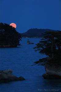松島の月.1 - 遥かなる月光の旅