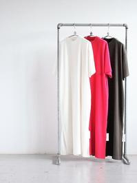 blurhms ROOTSTOCKRough&Smooth Thermal Dress S/S - 『Bumpkins putting on airs』