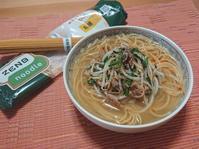 豆の旨みが溶け込んだ♪豚ニラもやしのスープヌードル(汁麺) - candy&sarry&・・・2