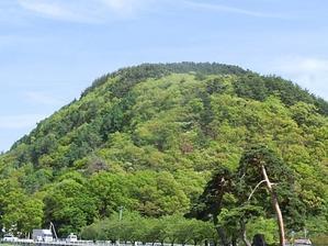緑の山へ入った -
