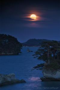 松島の月.2  END - 遥かなる月光の旅