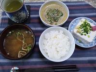 5/3 納豆玉子朝食@自宅 - 無駄遣いな日々