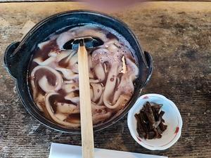 """山梨の「小作」で""""小豆ほうとう""""を食べてきました - こだわりチャレンジ by tenugui (mhokkun)"""