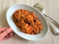 丸め豚肉のトマトクリーム煮 - 料理研究家 島本 薫の日常