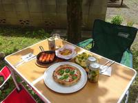 お庭でピザパ - マイニチ★コバッケン