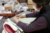 裁縫~ チューリップ柄のトートバッグ ~ - 鎌倉のデイサービス「やと」のブログ