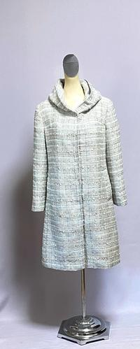 ミックスツイードのコート - 私のドレスメイキング