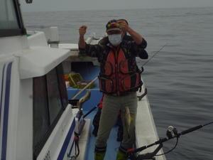 良く、釣れてる? と、言いたいが? - 海王流|鳥取県赤碕の遊漁船「海王丸」