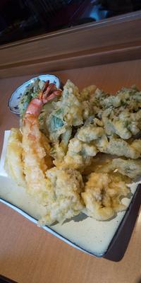 山菜天ぷら - 台所の窓から