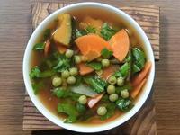 熱々の野菜煮がかき混ぜたらすぐに冷めた煮物に - 食写記 ~Shokushaki's Blog~