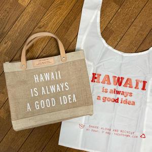 BAGGUのハワイコラボなエコバッグ - パンダのお気に入り