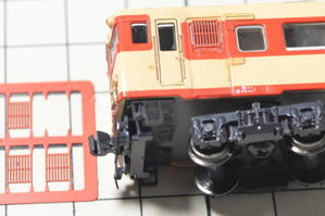 KATOキハ56・58ディテールアップ工作 -