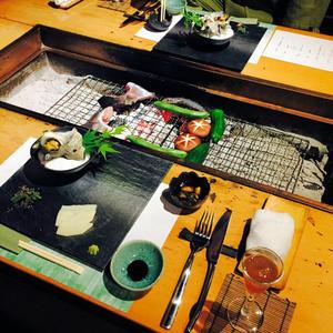 離れの宿 「広丞庵かのか」へ・・・囲炉裏個室のお夕食 3 - ハレクラニな毎日Ⅱ