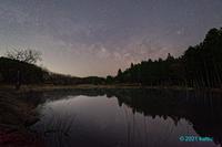 静寂の湖面 - katsuのヘタッピ風景