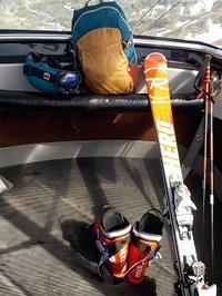 ようやく春スキースタイル! - @猫にコンバンワ!
